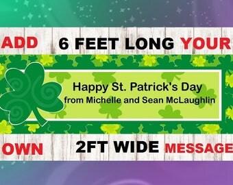 LUCKY ,St. Patricks Banner, St. Patricks Garland,St. Patricks, St. Patricks Birthday,St. Patricks party