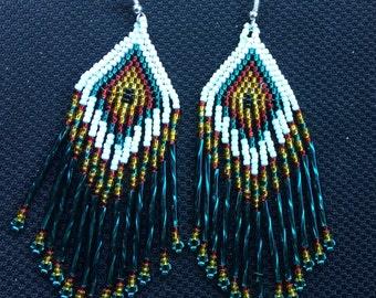 Navajo Beaded Earrings
