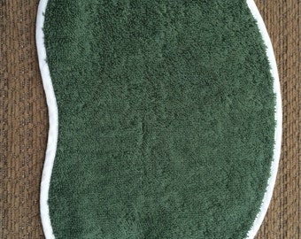 Forest Green Bean Cloth- Small