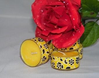 Golden Rose Soy Wax Tea Lights