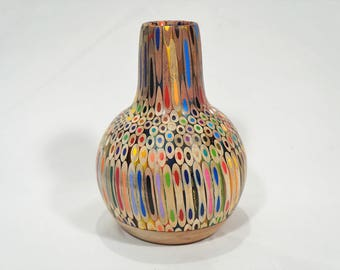 Colored Pencil Vase