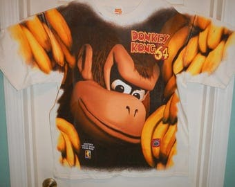 Donkey Kong 64 Special Promotional Tee Shirt (1999)