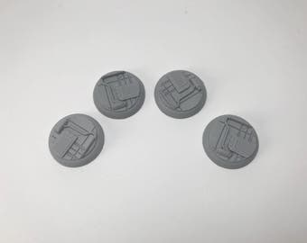 30MM SciFi Base 2 (pack of 4)