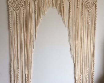 Macrame Wall Hanging Wedding Arch Extra Large Home Decor Wedding Decor