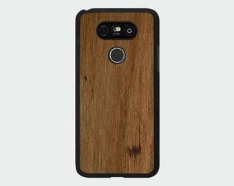 LG G5 Wood Phone Case - Wormy Chestnut Real Wood Case