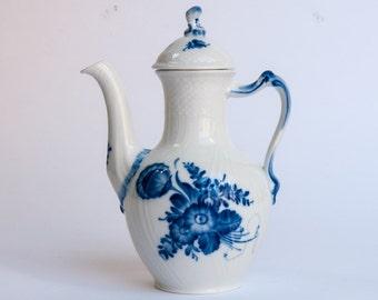 Royal Copenhagen Blue fluted Coffee pot