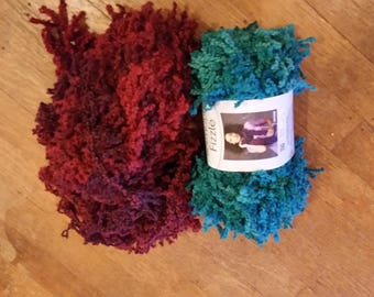 Fizzle Yarn - 2 skeins - Free Shipping