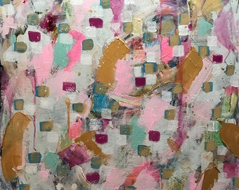 large contemporary art on canvas