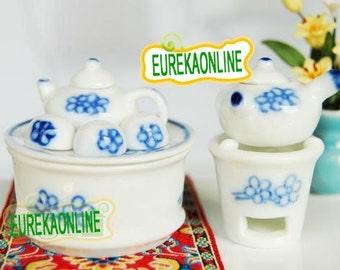 Miniature Asian Tea Set