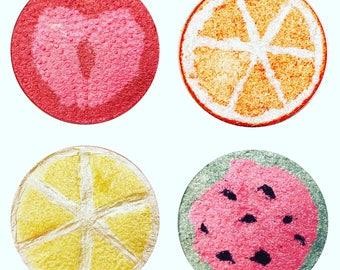 Fruity Bundle - Fruit Shaped Highlighter makeup vegan mineral makeup