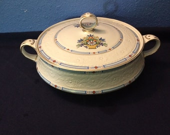 Vintage Alfred Meakin Footed Covered Serving Dish