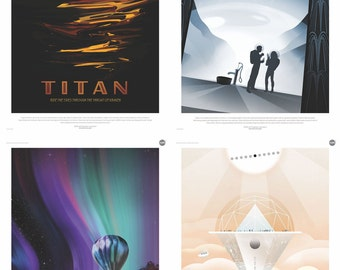 CUSTOM NASA/JPL Posters Set, You pick any three