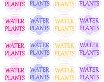Water Plants // Planner // Sticker // Filofax // Erin Condren // Happy Planner