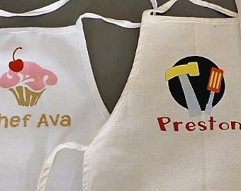 Childs Personalized Apron