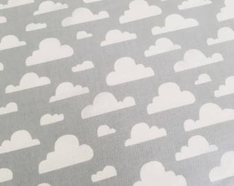 Grey Clouds fabric  Michael Miller