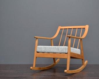 Vintage Retro Mid Century Scandart Rocking Chair