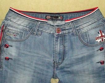 Longli fashion jeans international style, size 34