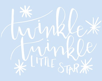 Twinkle Twinkle Digital File