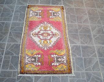 Free Shipping! Kilim Rug  Oushak Rug Vintage Hand Woven Turkish Rug Turkish  Rug Vintage turkish rug kilim Rug    3.3 x 1.8 feet      e:62