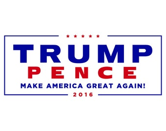 Trump Pence Campaign Logo SVG Files, Presidental Election SVG Files, Donald Trump SVG Files, Trump Pence Cutting Svg File, Instant Download