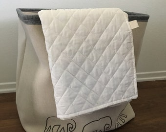 Quilted playmat/comforter