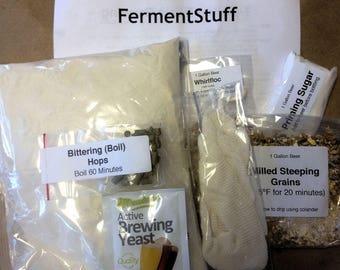 Cream Ale - One Gallon Partial Mash Kit by FermentStuff