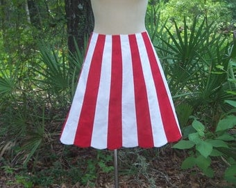Striped skirt | Etsy