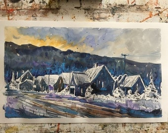 Snow in village II