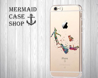 Peter Pan iPhone 7 case  iPhone 7 disney case Peter Pan iPhone 6 Case iPhone 6 disney Case/DC-09/135