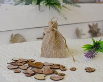 Burlap Mini Favor Bags, Rustic Wedding Mini Bag, Wedding, Rustic Favor Bags with twine, rope, jute mini bags, sac, hessian mini bags