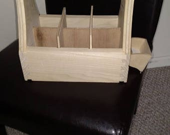 Poplar bottle carrier