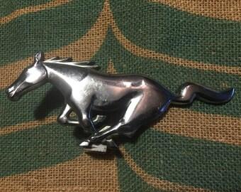 1966 Mustang Front Grill Emblem