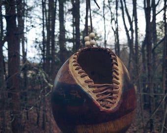 Hanging Gourd Basket / Planter
