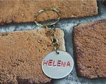Orphan Black Helena Keychain