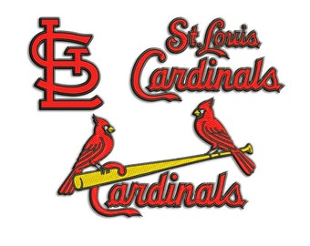 Cardinals embroidery design - Machine embroidery design