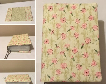 JW NWT Bible Cover pink flowers ( Ministry) ......Free Uk Delivery.......