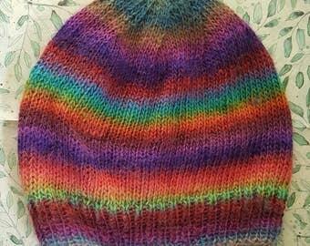 Multicolor slouchy Beanie