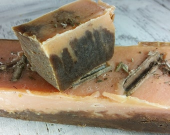 Natural Vegetable Soap Orange And Cinnamon