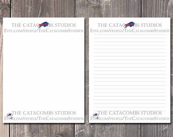 Buffalo Bills: NFL Printable Paper & Writing Paper