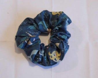 Hair ruffle / scrunchie mermaids / sea