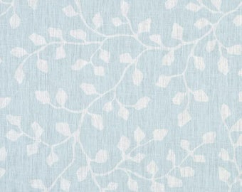 Woodland Oxford-  Sky Blue Branches, Curtains, accent pillows