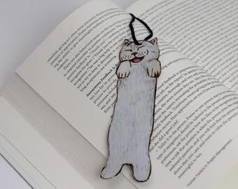 Wooden Kitty Bookmark