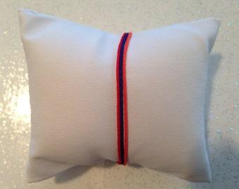 Bracelet minimalist thread in the colors of the Armenia