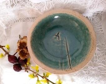 Ceramic SOAP dish shell snowdrops