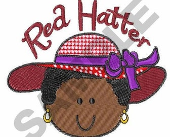 Red Hatter - Machine Embroidery Design