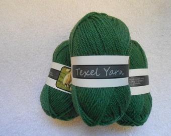 100% Pure Worsted Texel DK Wool