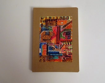 Hand-painted 100 pages notebook