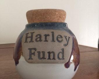 Tumbleweed Pottery Word Jar