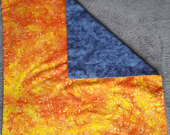 slick draw hematite /orange tonic + pouch