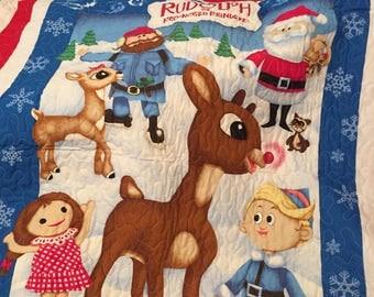 Rudolf and friends quilt